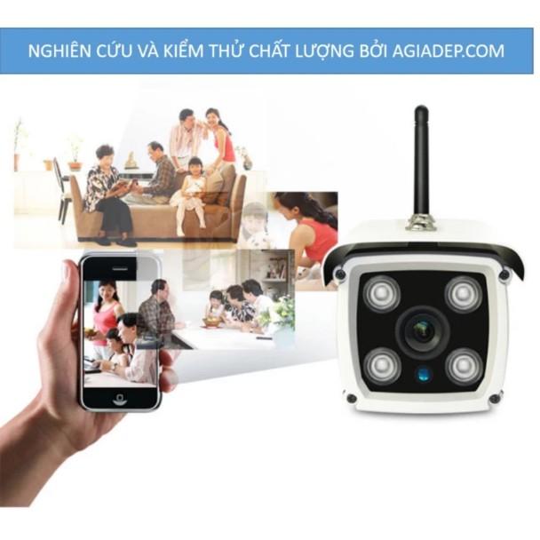 Camera wifi an ninh giám sát ngoài trời chống nước siêu nét HD 1080 liên doanh Yoosee - Agiadep (bản