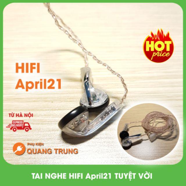 Tai nghe earbud DIY hifi april21,cực hay,cực đẹp