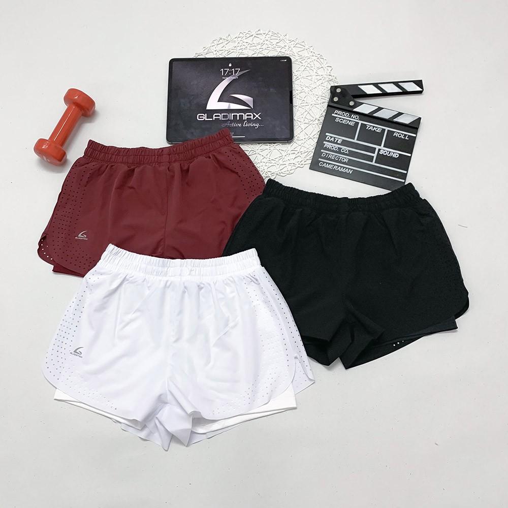 Mặc gì đẹp: Quần đùi boxer không viền tập gym, chạy bộ, aerobic