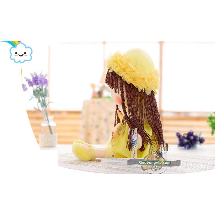 Gấu bông Búp bê hoa