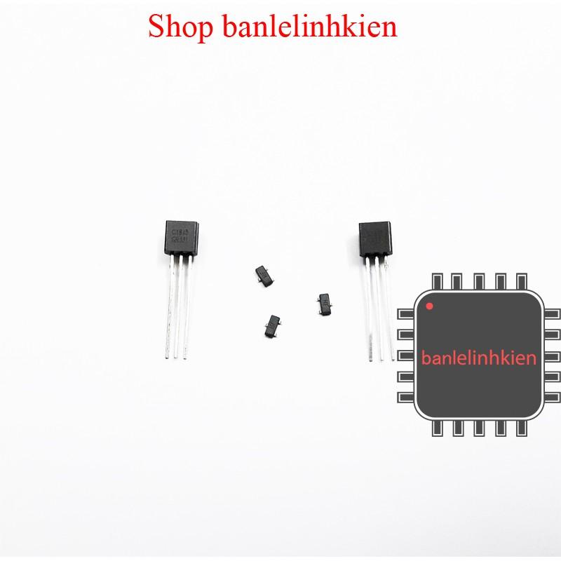 Linh kiện bán dẫn Transistor C1815 chân cắm/dán