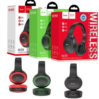 ✔️Chính Hãng✔️ Tai nghe chụp tai Hoco W29 - Tai nghe không dây - Có mic Chơi game và đàm thoại