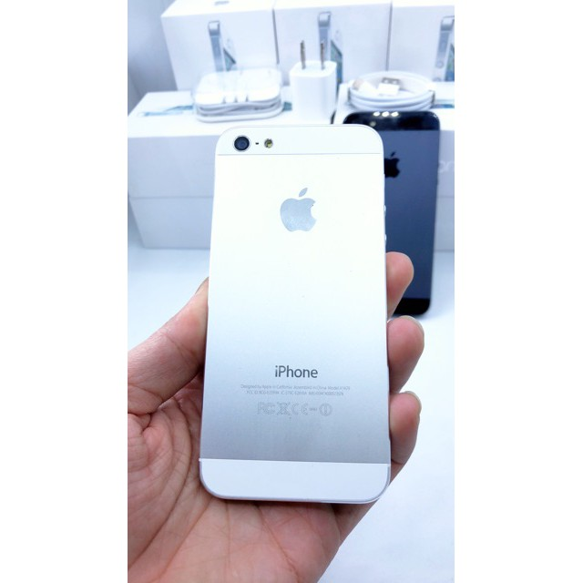 Điện Thoại iPhone 5 bộ nhớ 16G/32G/64G - chính hãng Apple, bảo hành 12 tháng, đổi mới 30 ngày không cần lý do.
