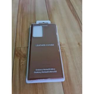 Ốp lưng Leather cover Note 20 Ultra – Ốp lưng da thật 100%