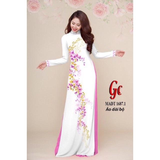 Vải áo dài in hoa 3D - 3021547 , 971527661 , 322_971527661 , 200000 , Vai-ao-dai-in-hoa-3D-322_971527661 , shopee.vn , Vải áo dài in hoa 3D