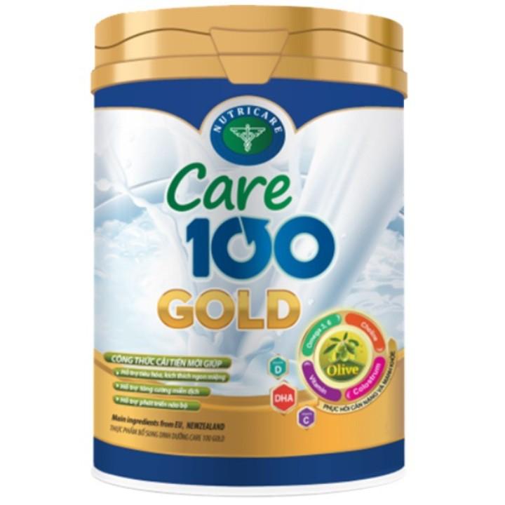Sữa bột Care 100 Gold lon 900g