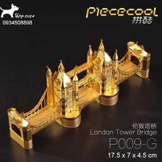 Đồ chơi lắp ghép mô hình 3D bằng thép London Brigde Piececool