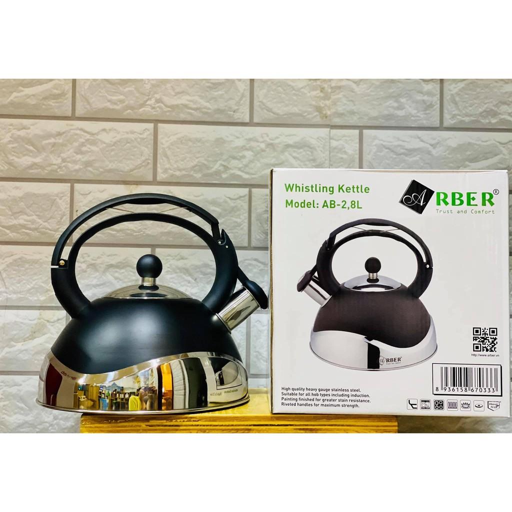 Ấm đun nước bếp từ Arber AB 2.8L dung tích 2.8 lít Đức