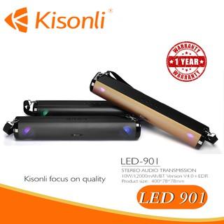 [BH 12 Tháng] Loa Kisonli Bluetooth LED-901 _ Thiết kế đẹp mắt