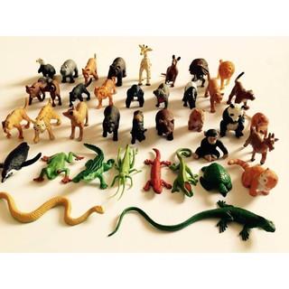 Bộ 36 con vật Safari – Hàng xuất dư