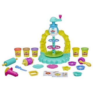 [Mã 1212TINI03 giảm 25% đơn 200k] Bộ đồ chơi đất nặn bánh quy rực rỡ Play Doh E5109 thumbnail