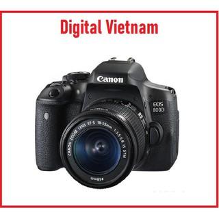 MÁY ẢNH CANON EOS 800D KIT EF-S18-55MM F4-5.6 IS STM