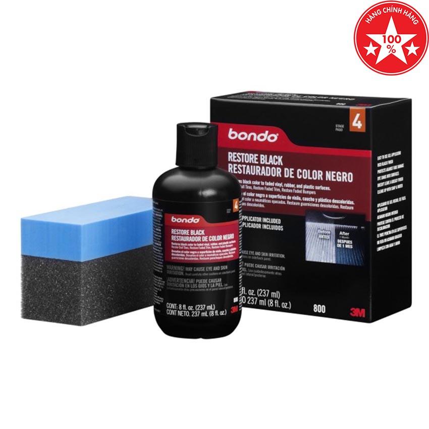 Phục hồi nhựa đen 3M Bondo Restore Black 237ml