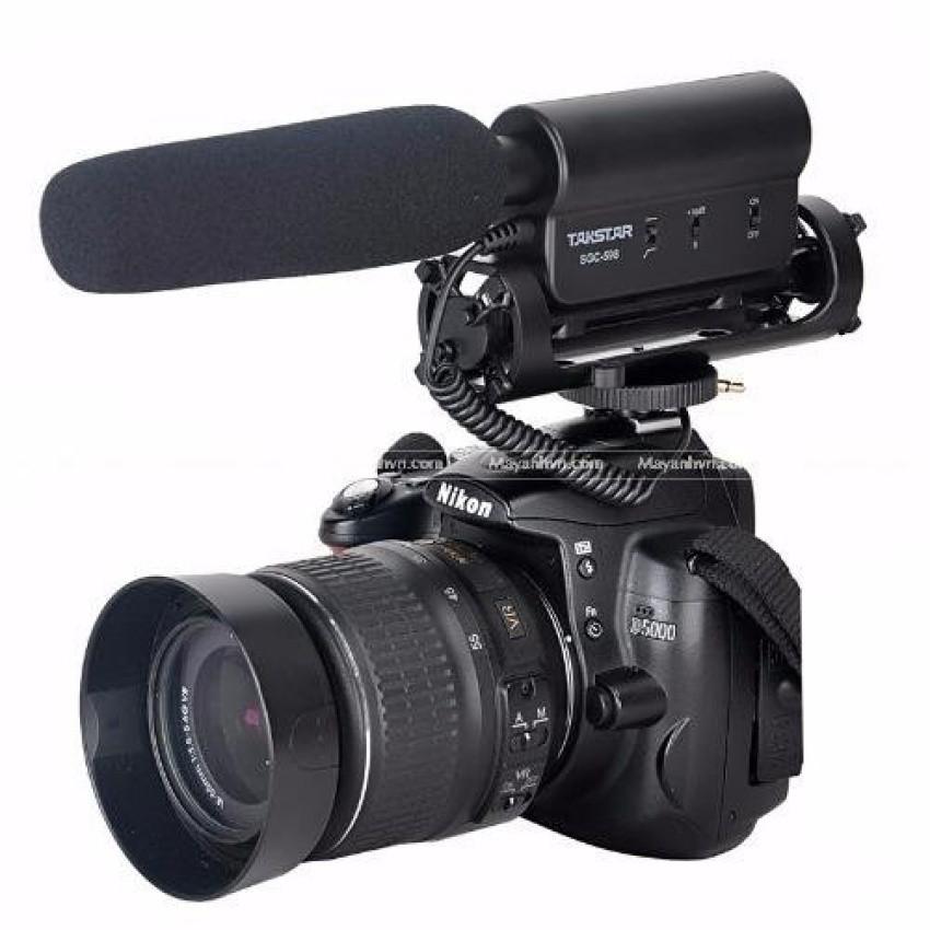 Microphone TakStar SGC-598 dùng cho máy ảnh Canon/Nikon (Đen)