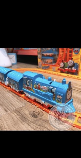 Đường ray tàu hoả thomas 3 toa mini ( ảnh&clip thật )