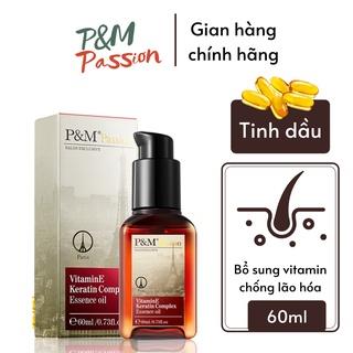 Tinh dầu dưỡng tóc P & M Passion PHÁP NHẬP KHẨU CHÍNH HÃNG làm mềm tóc chống hư tổn không trẻ ngọn 60ml thumbnail