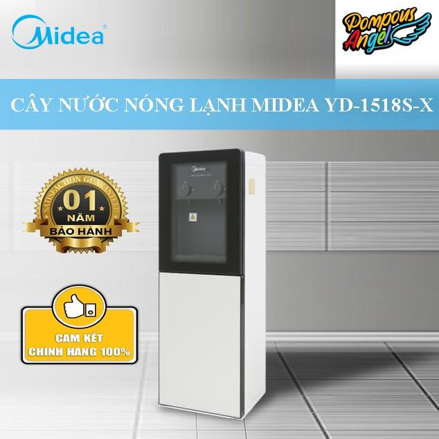 Cây nước nóng lạnh MIDEA YD1518S-W (W) chính hãng