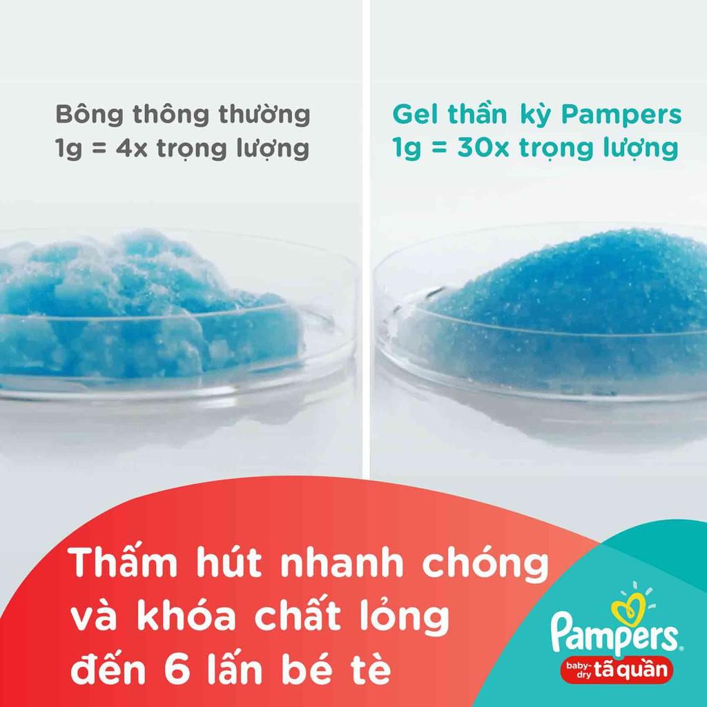 Hình ảnh [HCM]Tã Quần Pampers Baby-Dry bịch Jumbo đại đủ size M60/L54/XL48-4