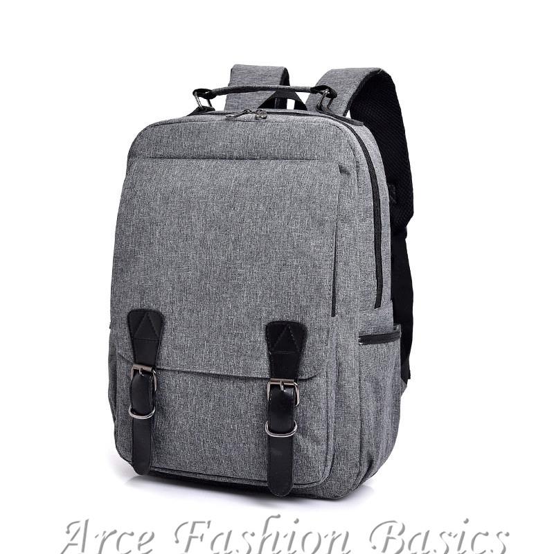 Korean Waterproof Backpack Men Large Causal Travel Laptop Bag Student School Bags