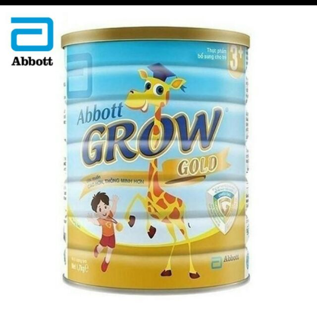 Abbott grow gold 3+ lon 1,7kg date 11/2020