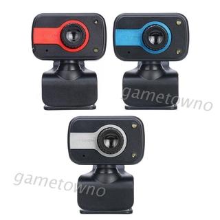 Wili Rotary High Definition Webcam PC Laptop Desktop Computer Digital USB Camera Mic