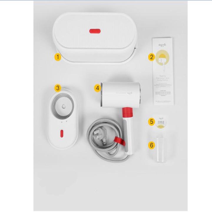Máy là ủi hơi nước cầm tay thông minh 2in1 DEM-HS200 1000W