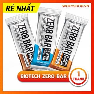 Bánh Ăn Liền Protein Bar Thay Bữa Phụ BIOTECH ZERO BAR - Một Thanh thumbnail