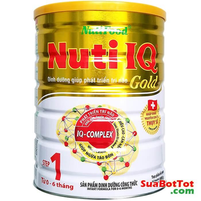 Sữa Bột Nuti IQ Gold 1 400g và 900g