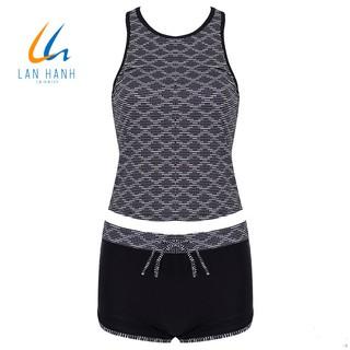 Bộ đồ bơi hai mảnh short TE Lan Hạnh - 21071 thumbnail