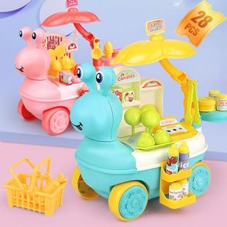 Đồ chơi cho bé [FREESHIP EXTRA] Quầy kem đồ chơi di động cho bé trai/bé gái, đồ chơi an toàn, đồ chơi vui vẻ