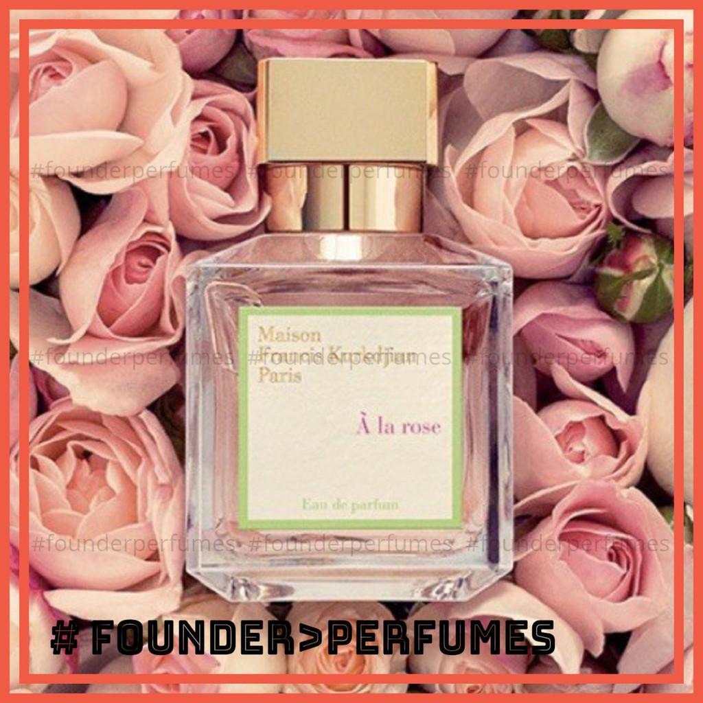 [S.A.L.E]  Nước hoa MFK A La Rose Test  EDP 5ml/10ml/20ml #.founderperfume