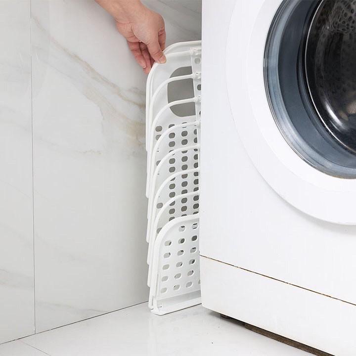Giỏ nhựa treo đựng đồ, quần áo bẩn gấp gọn đa năng