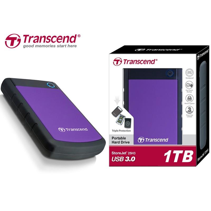 """Ổ Cứng Gắn Ngoài Transcend 1TB Storejet2.5"""" H3P - 2674256 , 679981455 , 322_679981455 , 1830000 , O-Cung-Gan-Ngoai-Transcend-1TB-Storejet2.5-H3P-322_679981455 , shopee.vn , Ổ Cứng Gắn Ngoài Transcend 1TB Storejet2.5"""" H3P"""