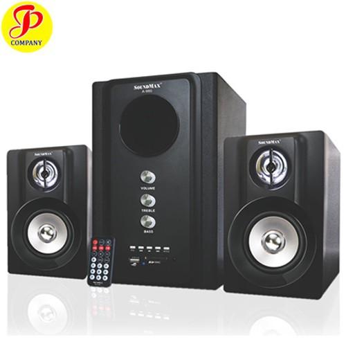 Loa vi tính SoundMax A980/2.1 Bluetooth
