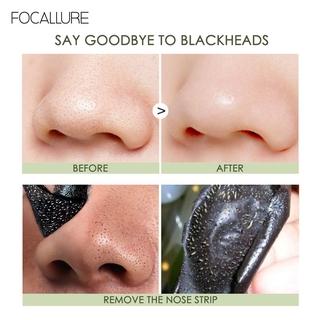 Hình ảnh Miếng dán lột mụn FOCALLURE làm sạch sâu trị mụn đầu đen cho vùng mũi 2.2g / miếng-4