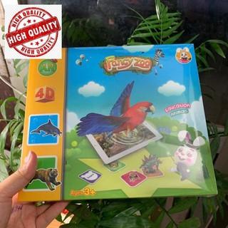 Combo sỉ 5 Bộ thẻ hình ảnh animal 4D hình con vật – Neobear Pocket Zoo – Thẻ 4D vườn thú ảo (Fancy zoo) Shop Hà Anh