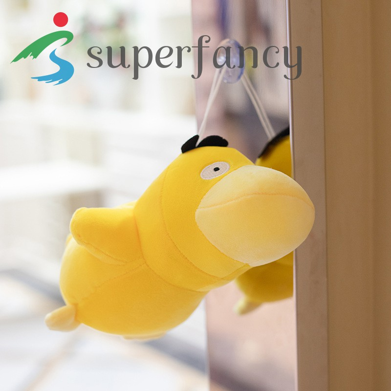 ready stock Psyduck Plush Toy Anime Duck Stuffed Doll Soft Throw Pillow Decorations Children Kids Birthday Present Gifts