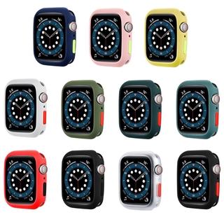 Khung Silicone Bảo Vệ Mặt Đồng Hồ Apple Watch 6 Se 44mm 40mm Iwatch 5 4 42mm 38mm