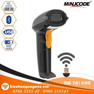 Máy quét mã vạch không dây cầm tay Minjcode MJ2810 – Chuyên logistics