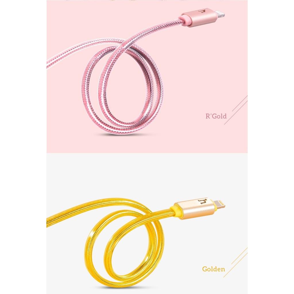 Cáp LED Hoco UPL12 có đèn báo sạc pin cho iphone 5,6, 6s 30cm, Giá tháng  11/2020