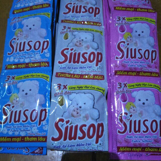 10 gói Nước xả làm mềm vải SiuSop (10 gói = 300g)