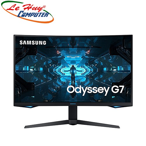 """Màn hình cong Samsung Odyssey G7 32"""" LC32G75TQSEXXV QLED 2K 240Hz G-Sync Chính Hãng"""