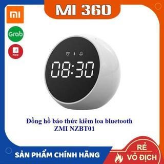 Đồng Hồ Báo Thức Kiêm Loa Bluetooth Xiaomi ZMI NZBT01✅ Hàng Chính Hãng