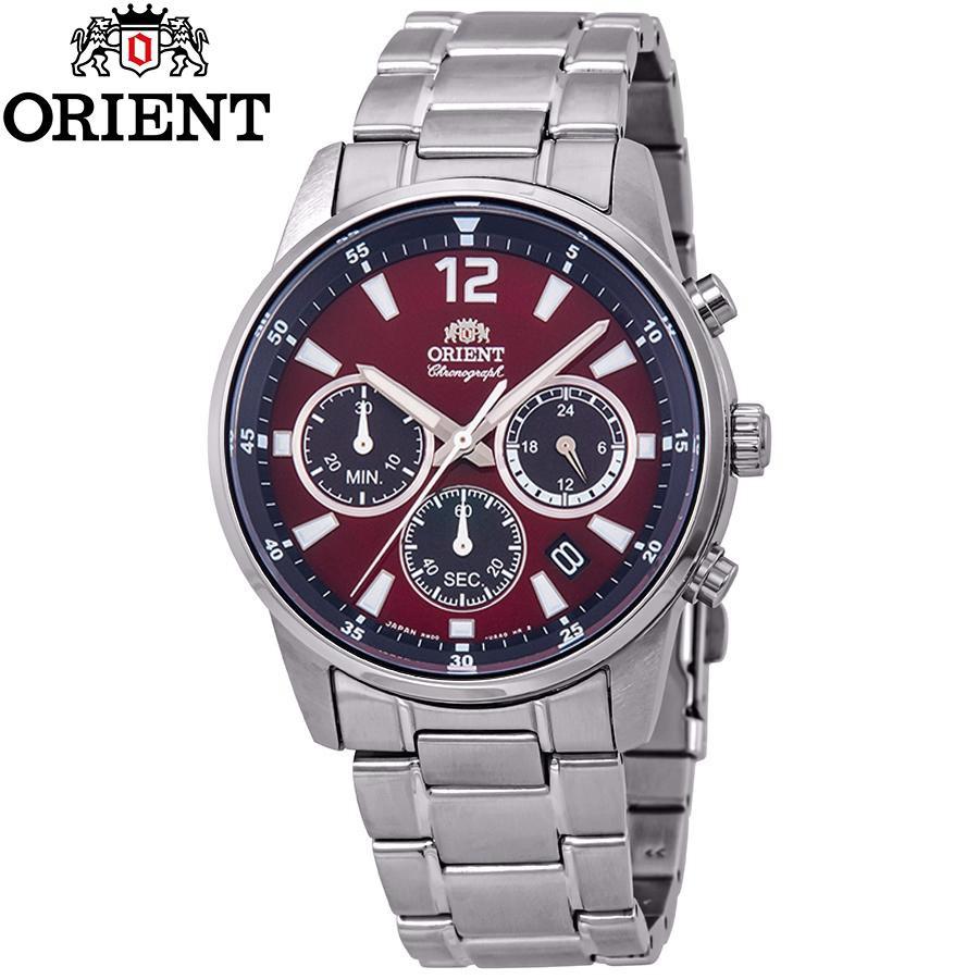 Đồng hồ nam dây kim loại Orient RA-KV0004R10B