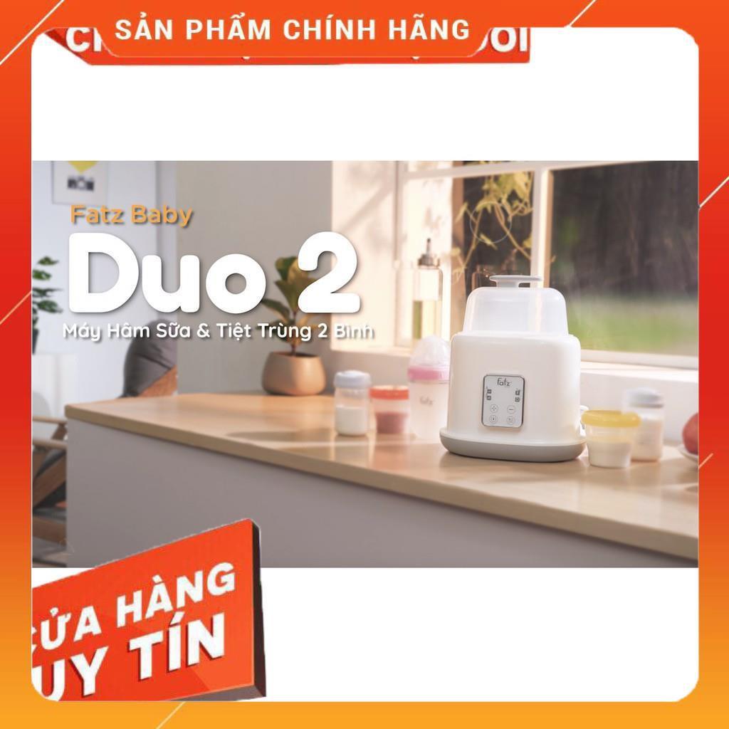 Máy hâm sữa tiệt trùng 2 bình điện tử Fatz Baby Duo2 - FB3223SL