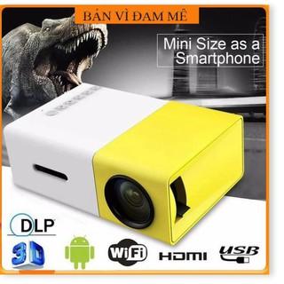 Siêu sale - Hàng Chính hãng Máy chiếu mini YG-320 Smart LED Projector Full HD 1080p Support Max 60 inch