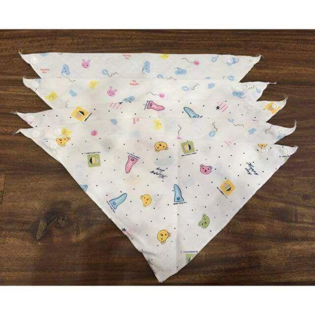 Set 10 yếm tam giác xô xuất Nhật