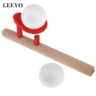 Blowing Ball Wooden Game Portable Educational Toys For Kids and Adults Fresh