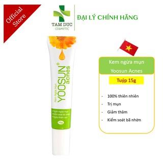 YOOSUN ACNES [Tuýp 15gr] - Kem ngừa mụn, kháng khuẩn, kiểm soát nhờn [yosun rau má] thumbnail