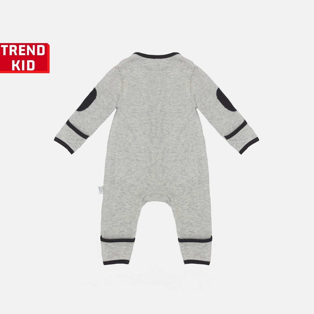 Sleepsuit cho bé trai bé gái từ 5 đến 19kg màu ghi BABYWANT